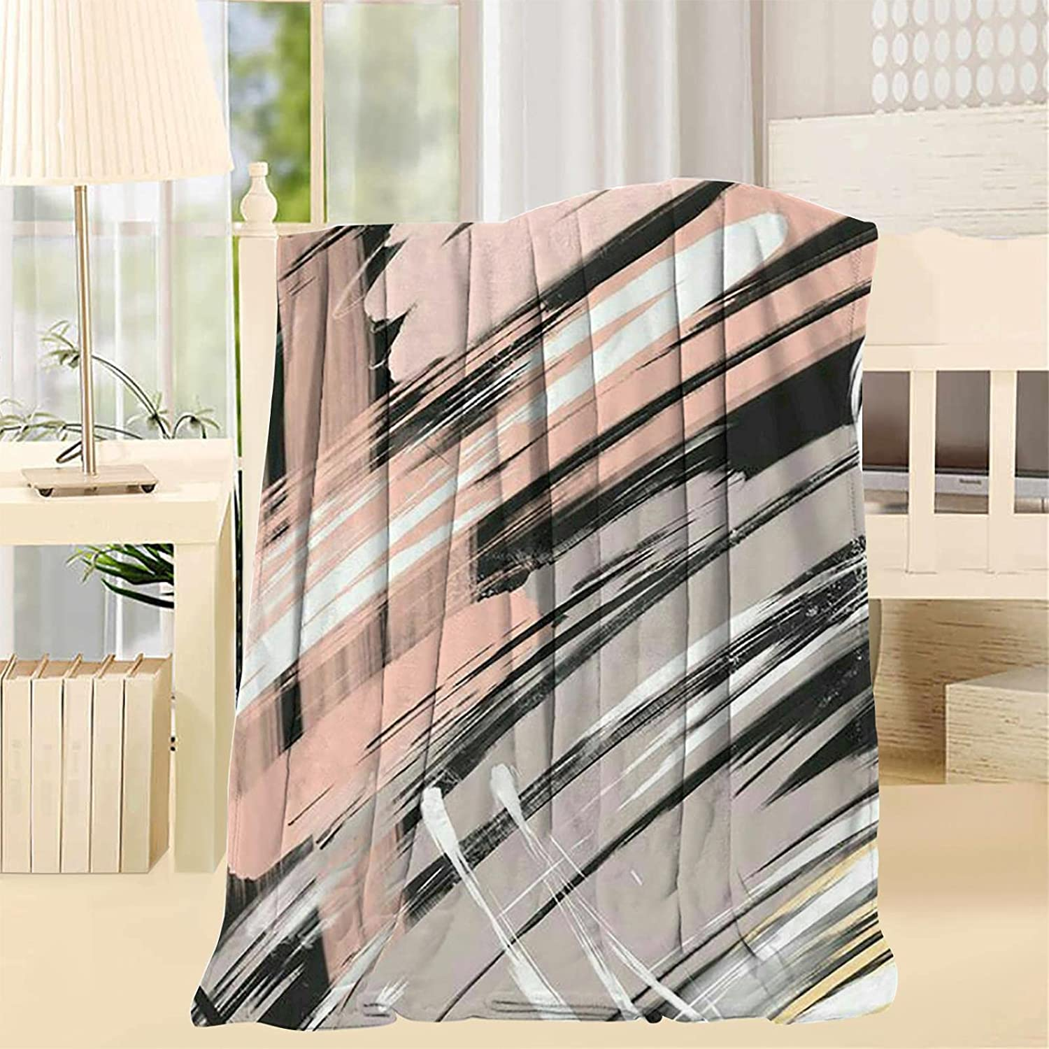 kilonp Abstract Super beauty product restock Houston Mall quality top Throw Blanket Lightweight Couch Queen Size for B