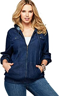 fde7b289fe5 Amazon.com  Plus Size - Fashion Hoodies   Sweatshirts   Clothing ...