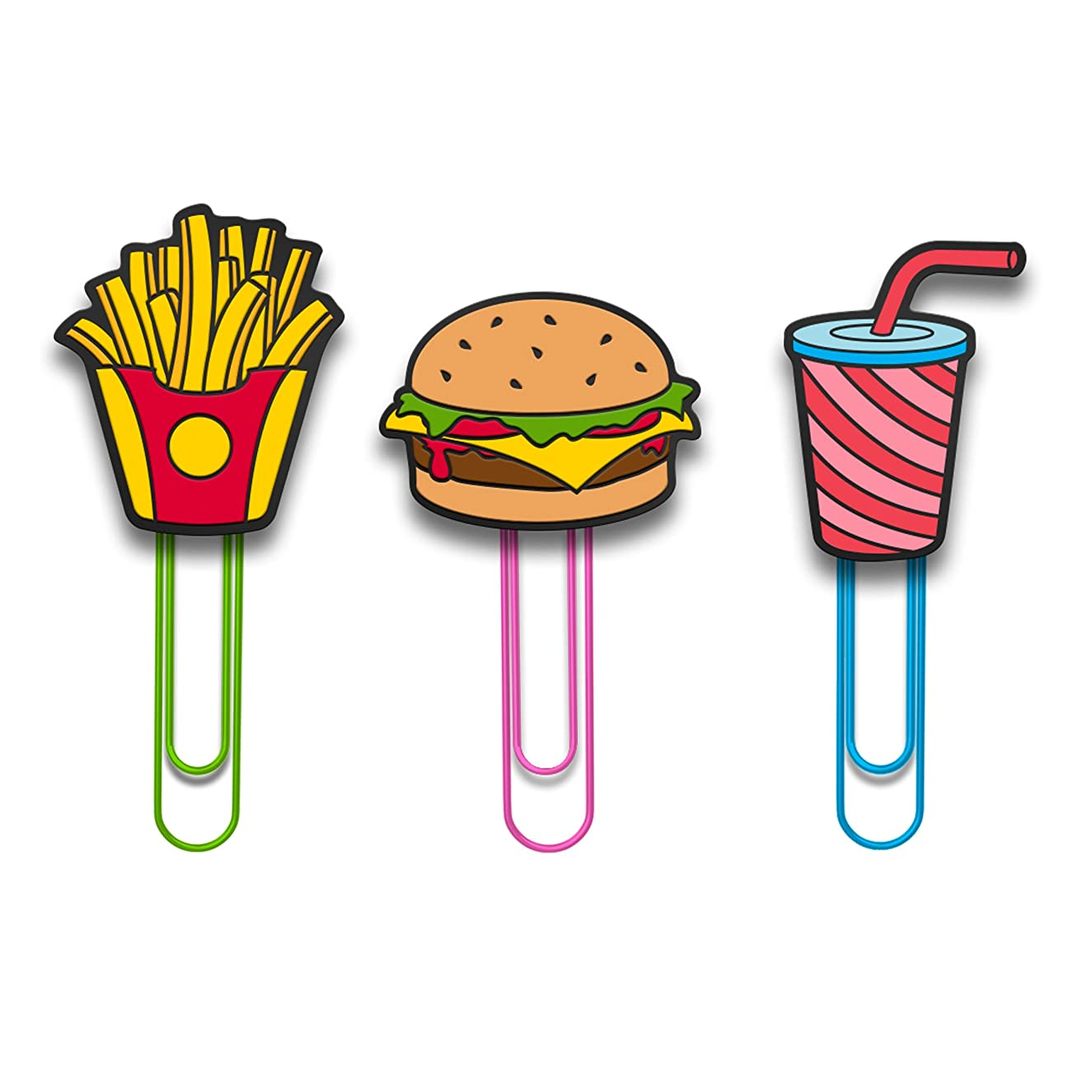 Mustard M16016F Clip It Fast Food Photo Memo Hanger String - Fast Food Clip It