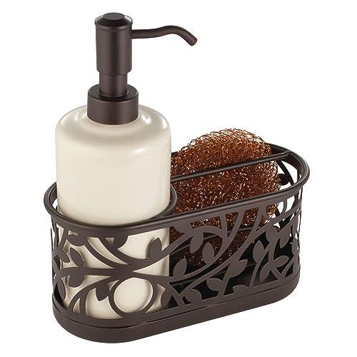 Kitchen Soap Dispenser Caddy Amazon Com