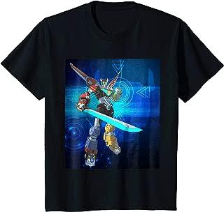 Kids Voltron Legendary Defender Combined Lion Poster T-Shirt