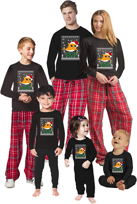 Awkward Styles Christmas Pajamas for Family Xmas Shark Matching Christmas Sleepwear Men PJ Set Style 1 M