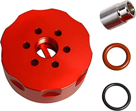 Red CAT Fuel Filter Kit Adapter For 2001-2016 GM Duramax 6.6L