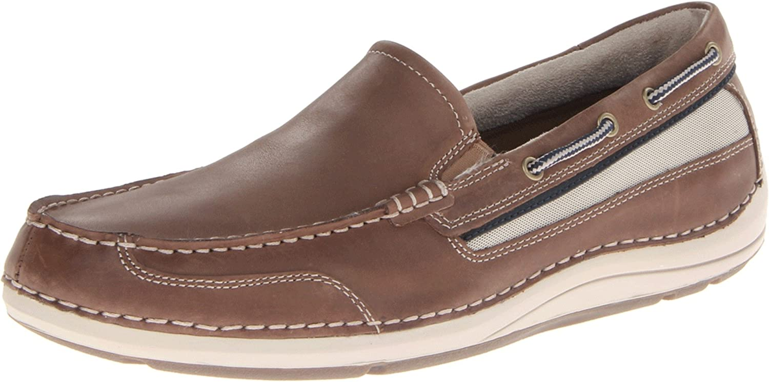 Rockport Men's Shoal Lake Slip-On Boat shoes