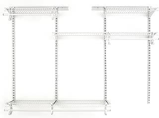 closetmaid shelftrack 4 drawer kit in white