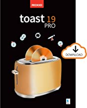Roxio Toast 19 Pro | CD, DVD & Blu-ray Burner for Mac | Disc Burning, File Conversion, Multimedia Editing Suite [Mac Downl...