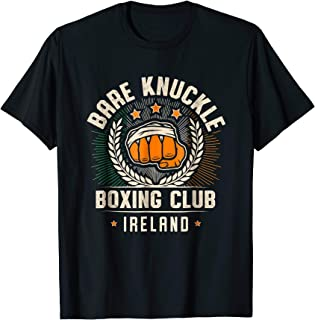 Bare Knuckle Boxing Club T-shirt for Pugilists in Ireland