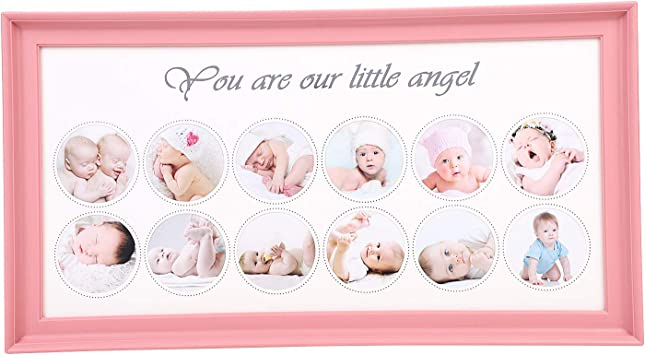Wedding Gift Baby Shower Gift Marriage Anniversary Gift Flower Photo Frame Birthday Gifts New Parent Gift Unique Newborn Baby Gifts