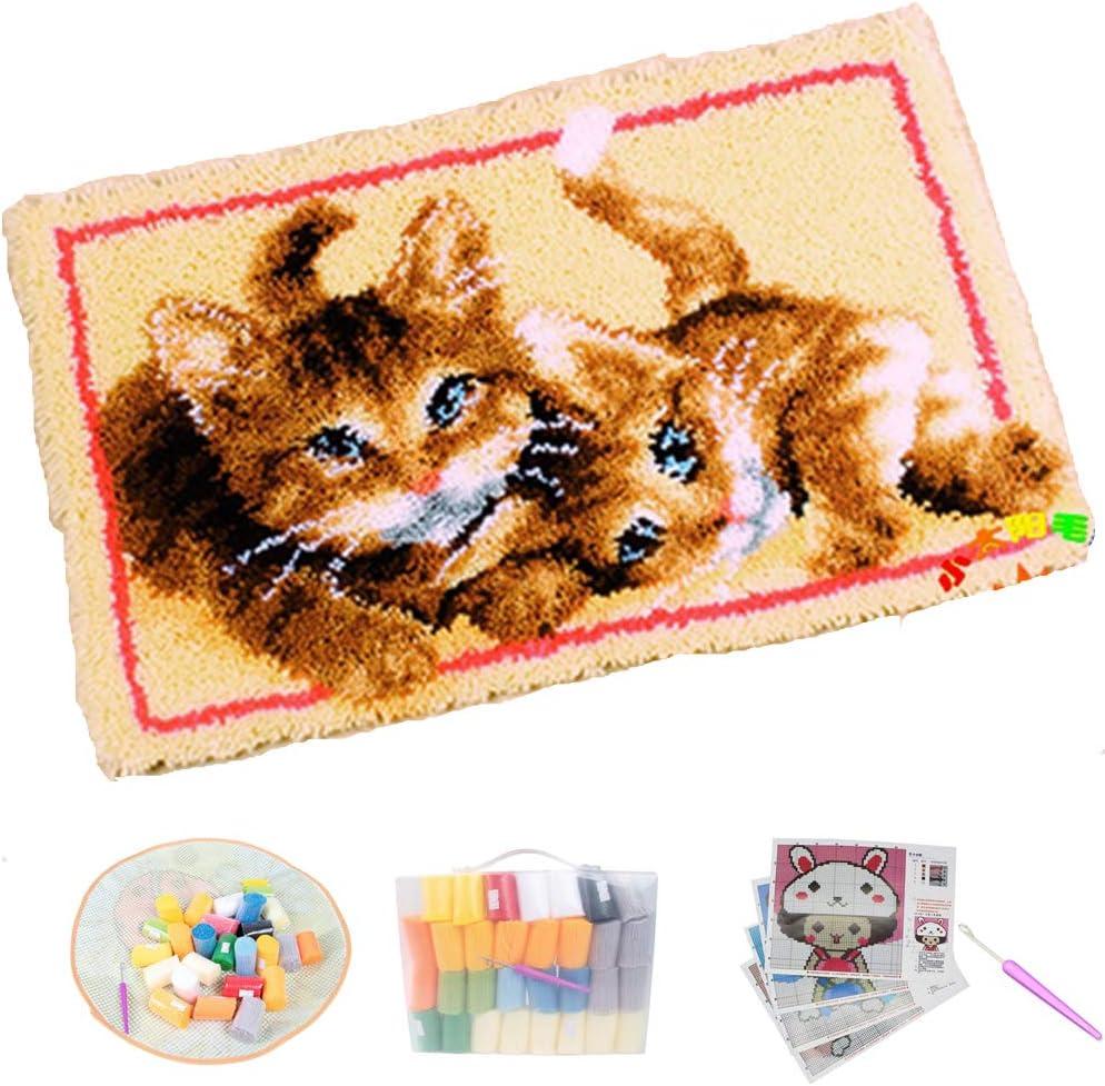Latch Hook Kit DIY Tools National uniform free shipping Cushion Fashionable Crocheting Comp Rugs