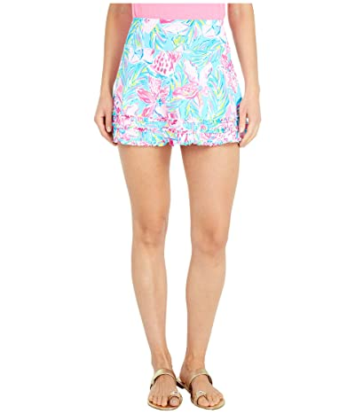 Lilly Pulitzer UPF 50+ Fionna Skort (Blue Ibiza Gimme The Juice) Women