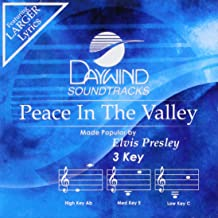 Peace In The Valley Accompaniment/Performance Track