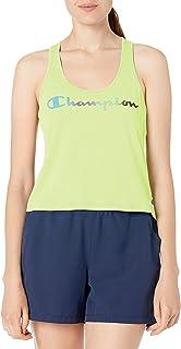 Champion Womens W5687G Sport Racerback Tank Sleeveless T-Shirt