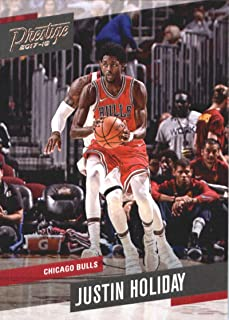 Basketball NBA 2017-18 Panini Prestige #13 Justin Holiday #13 NM+ Bulls