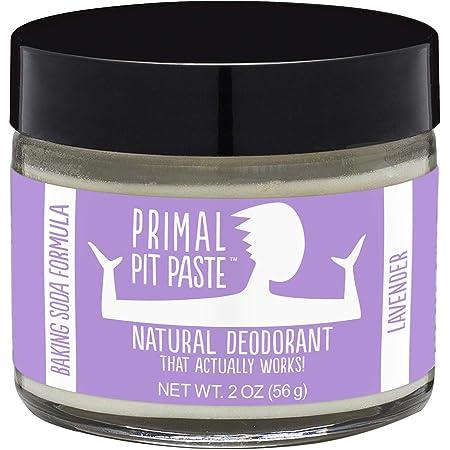 Primal Pit Paste, Deodorant Jar Lavender Natural, 2 Ounce