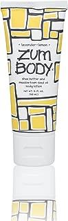 Zum Body Lotion Shea Butter & Meadow Foam Seeds Oil Lavender-Lemon - 2 fl oz