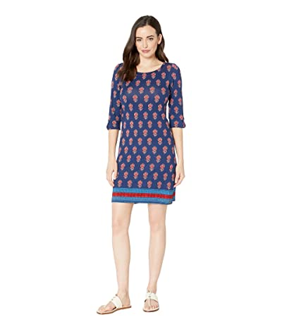 Hatley Lucy Dress (Mini Flower Blue) Women