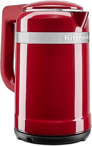 high quality KitchenAid lowest KEK1565ER Electric Kettle, 1.5 Liter, Empire Red lowest (Renewed) online sale