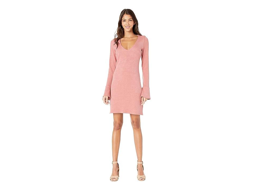 MINKPINK Sweetness Knit Dress (Baked Pink) Women