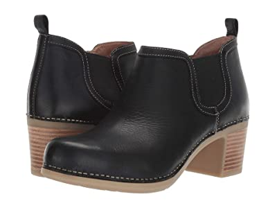 Dansko Harlene (Black Waxy Burnished) Women