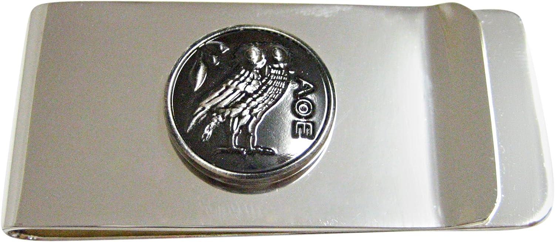 Circular Owl of Athena Money Clip