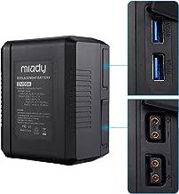 14.8V 154Wh V-Mount/V-Lock Rechargeable Battery Compatible with Sony Video Digital Camera Camcorder Broadcast DSLR, LED Li...