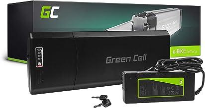 GC® Fietsaccu 24V 13Ah Li-Ion E-Bike Rear Rack Green Cell Accu voor Elektrische Fiets Batterij met Lader