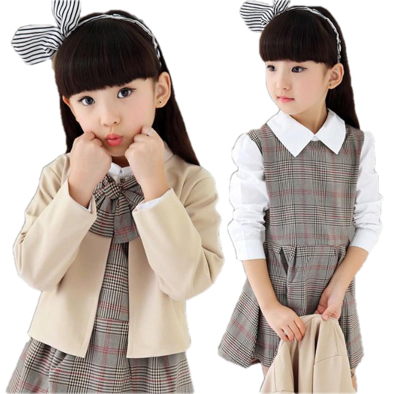monoii 子供 スーツ 入学式 卒業式 フォーマル ワンピース 韓国 子供服 女の子 673