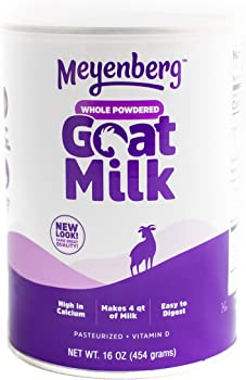 Meyenberg 16 oz Canned Powdered Whole Goat Milk