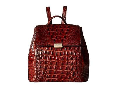 Brahmin Margo Backpack (Pecan) Backpack Bags