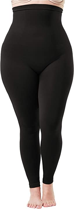 Plus Size Look At Me Now High-Waisted Seamless Leggings