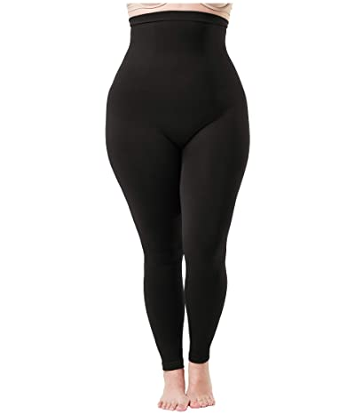 Spanx Plus Size Look At Me Now High-Waisted Seamless Leggings (Very Black) Women