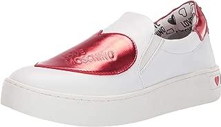 Women's Slip-on Sneaker with Big Heart Logo