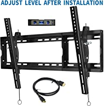 BLUE STONE TV Wall Mount Bracket Tilt Low Profile for Most 32-80 inch Flat Screen, LED, 4K, Curved TVs, with Max VESA 600x400mm Holds up to 165lbs and Fits 16