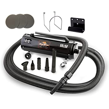 Extra Bonus! Includes 3 Additional Filters - Metro Vac Revolution W/ 30 Ft Hose - MB-3CD SWB - 30 - Air Force Master Blaster Car & Motorcycle Air Dryer - MADE IN THE USA