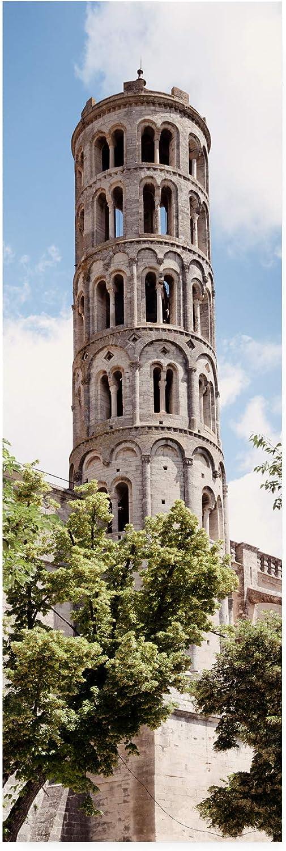 Trademark Fine Art PH01563C824GG France Provence 2 Tour Fenestrelle Uzes by Philippe Hugonnard, 8x24
