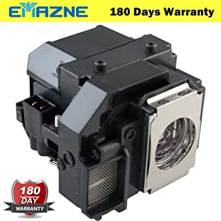 Emazne ELPLP55/V13H010L55 Projector Replacement Compatible Lamp with Housing for Epson EB-S7 EB-S72 EB-S8 EB-S82 EB-W7 EB-W8 EB-W8D EB-X7 EB-X72 EB-X8 EB-X8e/EH-TW450/EX31 EX51 EX71/H309A H309C