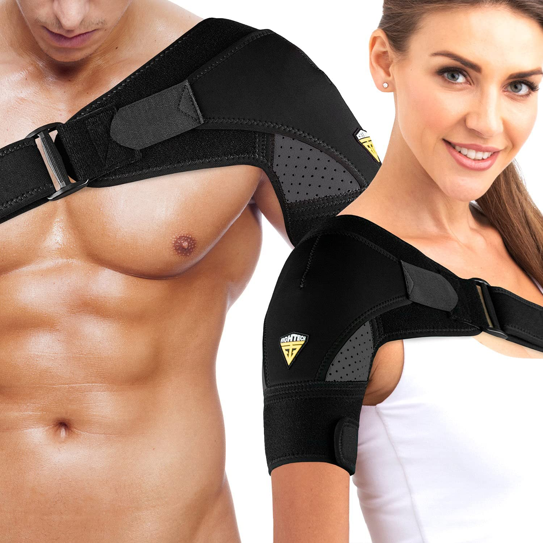 FIGHTECH Shoulder Brace Max 85% OFF Alternative dealer for Men Support Compression Women and