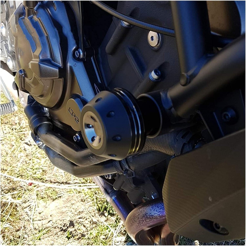 F/ür Suzuki GSX-S 750 GSX-S 1000 GSX-S750 GSX-S1000 GSXS Absturzsicherung Rahmen Schieber Verkleidungsschutz Anti-Crash-Pad-Schutz Color : A