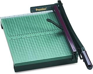 Premier 715 StackCut Heavy-Duty Trimmer, Green, Table Size 12-1/2