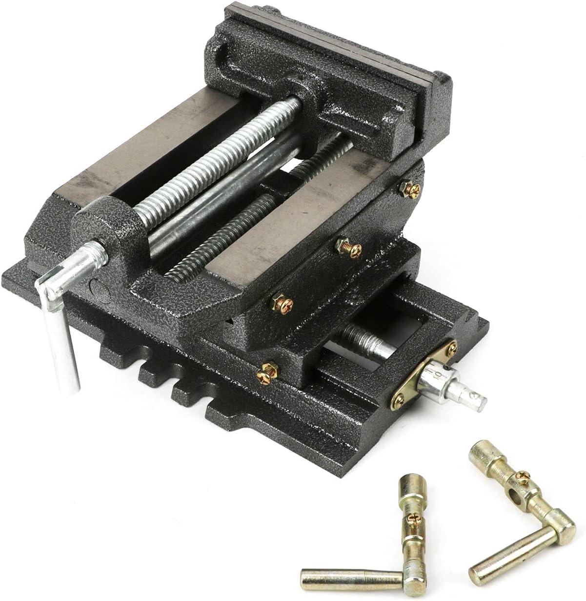 jxgzyy 6 Inch X-Y Compound Drill Sli Cross New product!! Vise Heavy Duty Max 70% OFF Press