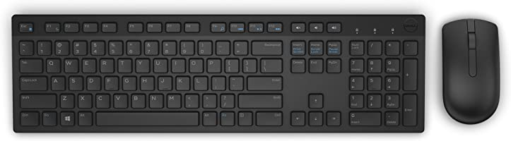 DELL 5WH32 Wireless Keyboard and Mouse Combo (Black)