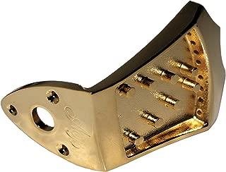 Morgan Monroe AB-TP/GD Ashton Bailey Mandolin Tailpiece, Gold