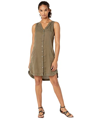 Prana Talton Dress (Slate Green) Women