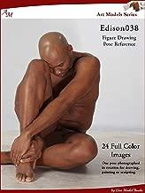 Art Models Edison038: Figure Drawing Pose Reference (Art Models Poses) (English Edition)