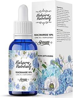 Serum Facial Niacinamida 10% + Zinc 5% Vitamina B3 Antimanchas Despigmentante Blanqueador - Reduce Aparicion Acne Anti Por...