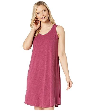 Aventura Clothing Carrick Solid Dress (Red Plum) Women