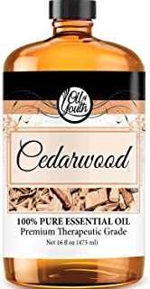 16oz Bulk Cedarwood Essential Oil – Therapeutic Grade – Pure & Natural Cedarwood Oil
