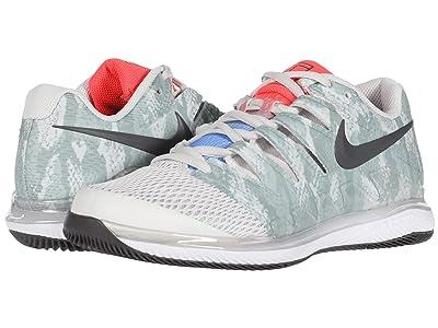 Nike Air Zoom Vapor X (Platinum Tint/Thunder Grey/Laser Crimson) Women