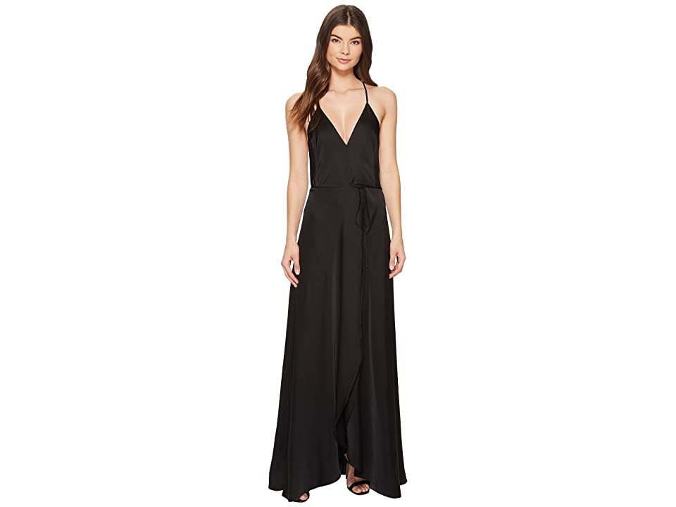 Yumi Kim Rush Hour Maxi (Black Charmeuse) Women