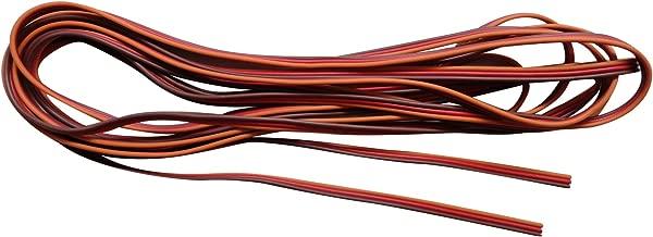 brown red orange servo